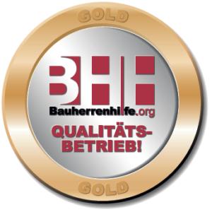 Zertifikat Bauherrenhilfe BHH